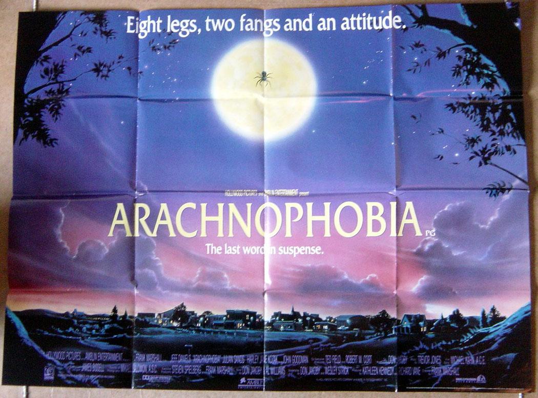 arachnophobia original cinema movie poster from