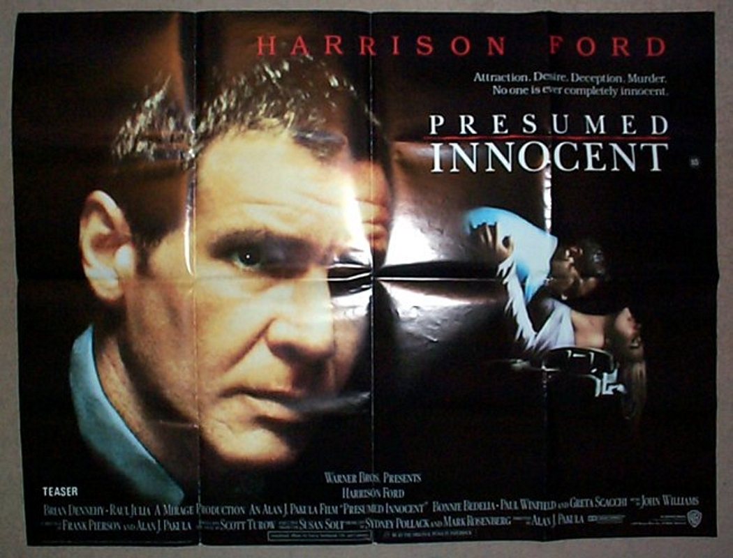 presumed innocent view larger image - Presumed Innocent Movie