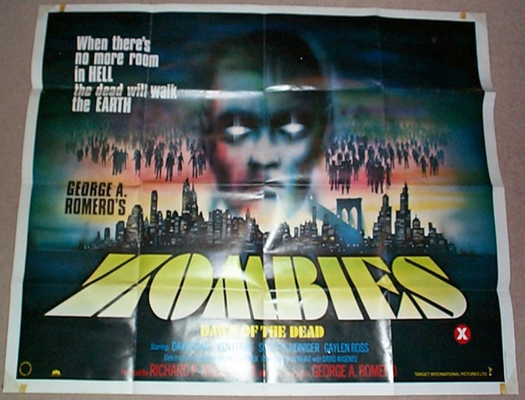 Zombies : Dawn Of The Dead - Original Cinema Movie Poster ...