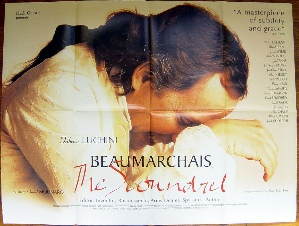 Beaumarchais the Scoundrel movie