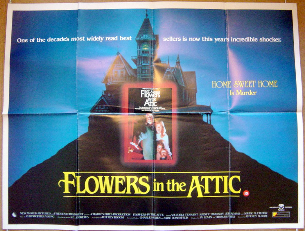 Flowers In The Attic Original Cinema Movie Poster From pastposters Brit