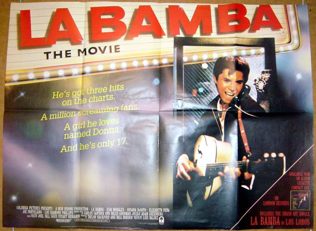 La Bamba movie posters at movie poster warehouse