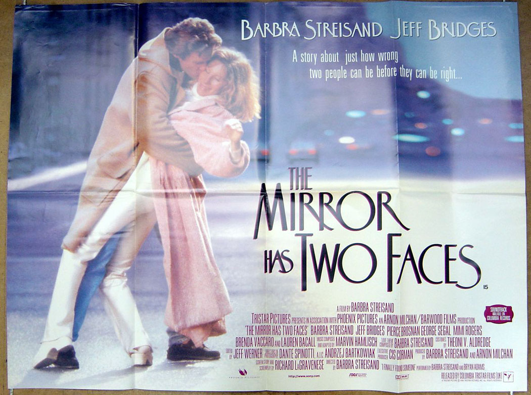 a movie review of the mirror has two faces The mirror has two faces when our local cable company started running this film a month ago, i had almost forgotten that i had seen it in the theater when it first came out i was reminded of how much i had missed the film and started watching it again.