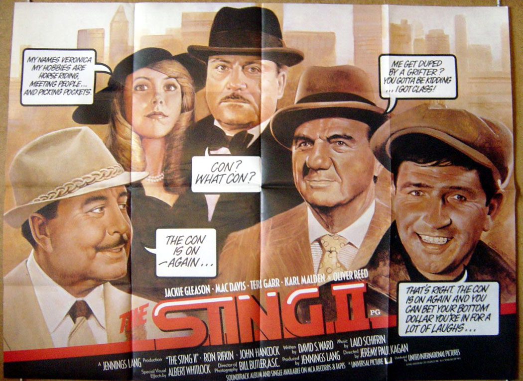 1983 Movie Posters: The Sting II (1983) Movie