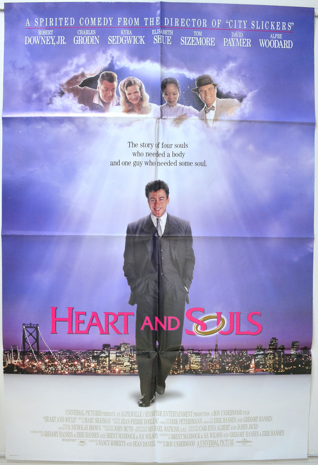 Heart And Souls - Original Cinema Movie Poster From ...