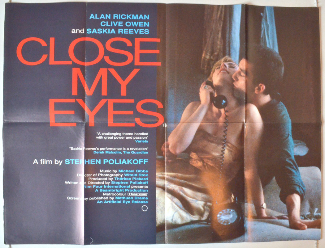 a close my eyes: