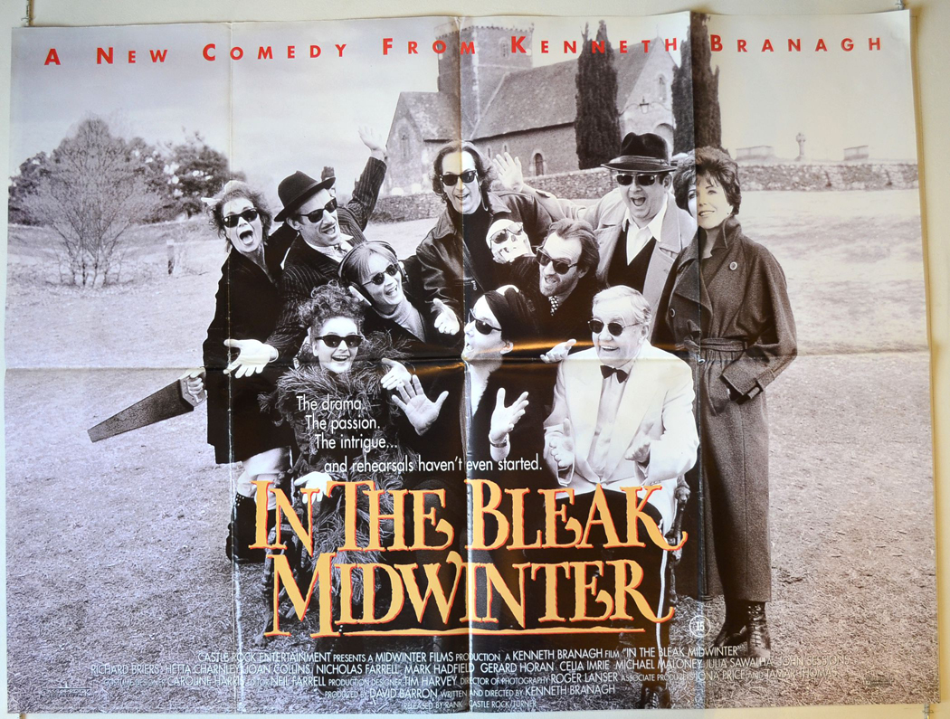 1995 Movie Posters: In The Bleak Midwinter (1995) Movie