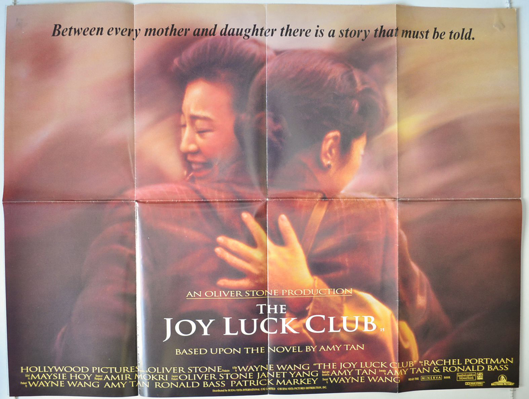 an analysis of the joy luck club a movie based on a novel by amy tan