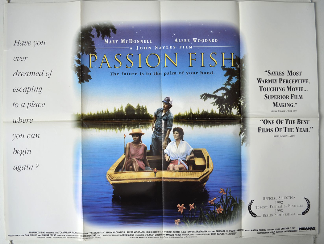Passion fish original cinema movie poster from for Passion fish movie