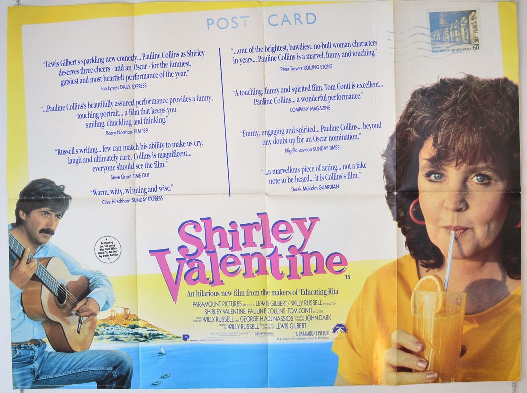 review of shirley valentine by willy russell