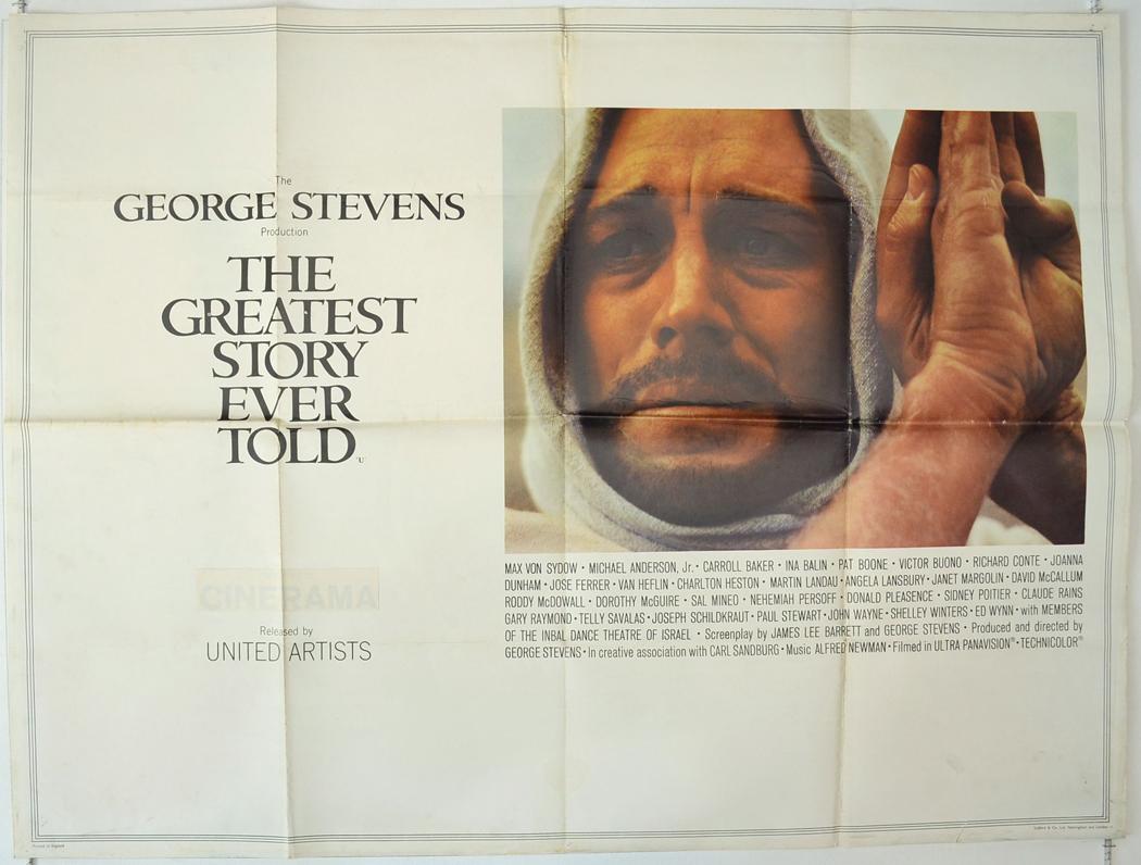 Greatest Story Ever Told (The) - Original Cinema Movie ...