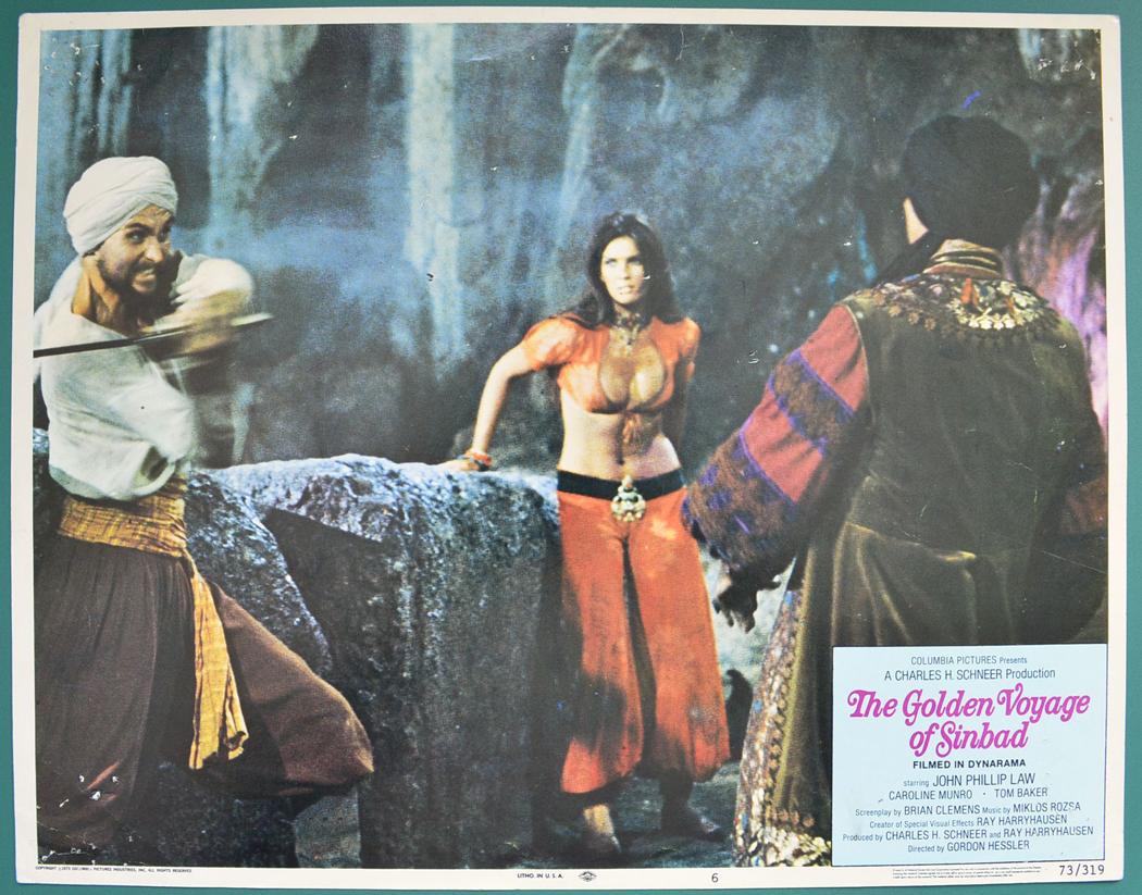 golden voyage of sinbad cast