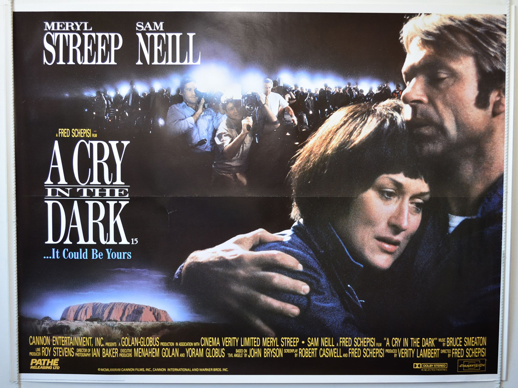 a cry in the dark Rent a cry in the dark (1988) starring meryl streep and sam neill on dvd and blu-ray get unlimited dvd movies & tv shows delivered to your door with no late fees, ever fast, free delivery one month free trial.