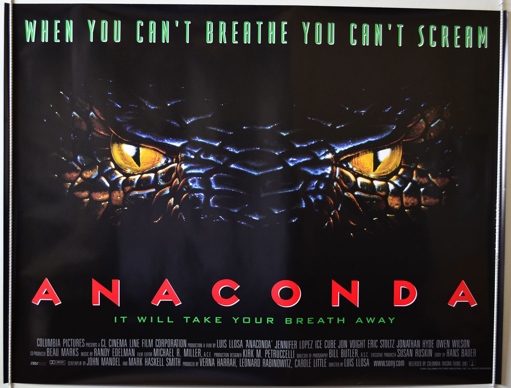 Anaconda 1 e 2 - BluRay 720p Dublado - Torrent Download (1997-2004)