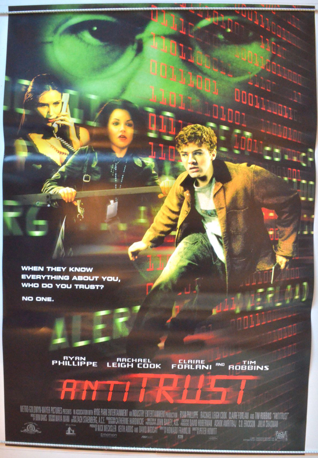 antitrust movie reiew Apex economics final exam review when the government runs a budget deficit,  what does the enforcement of antitrust laws do speeds up the flow of.