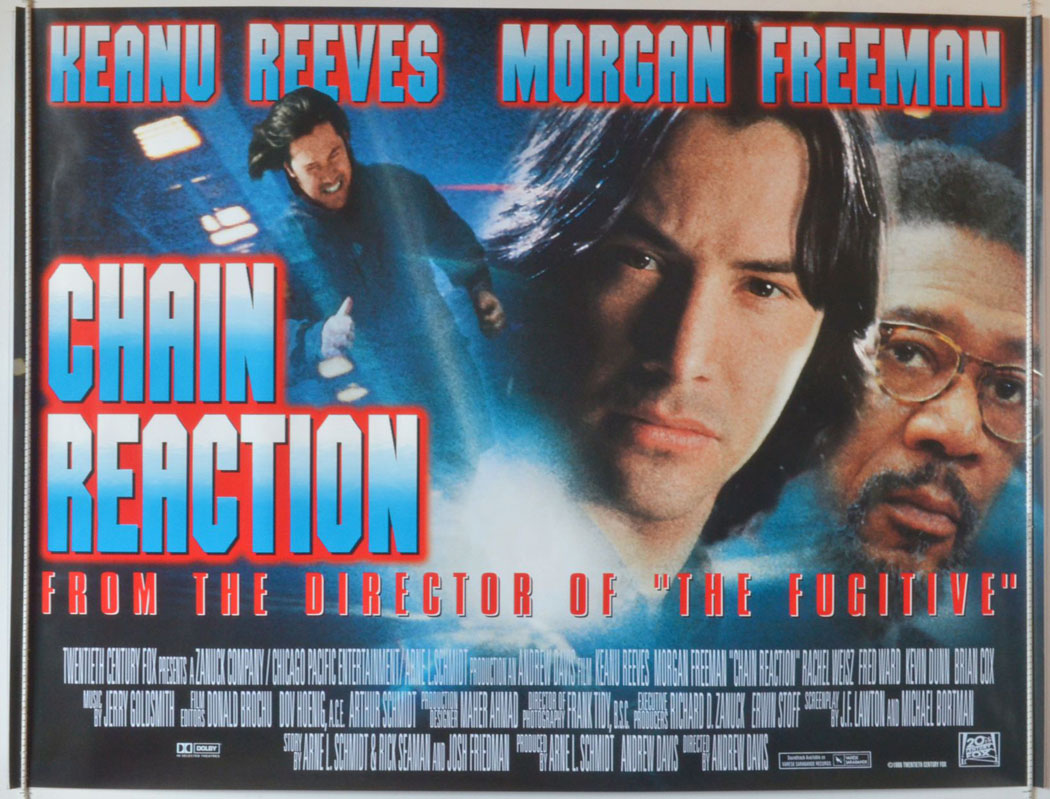 Chain Reaction - Original Cinema Movie Poster From pastposters.com British Quad Posters and US 1 ...