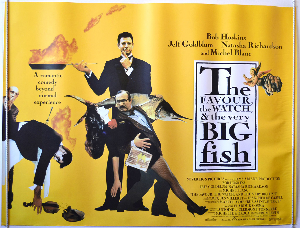 Favour the watch and the very big fish the original for Watch big fish
