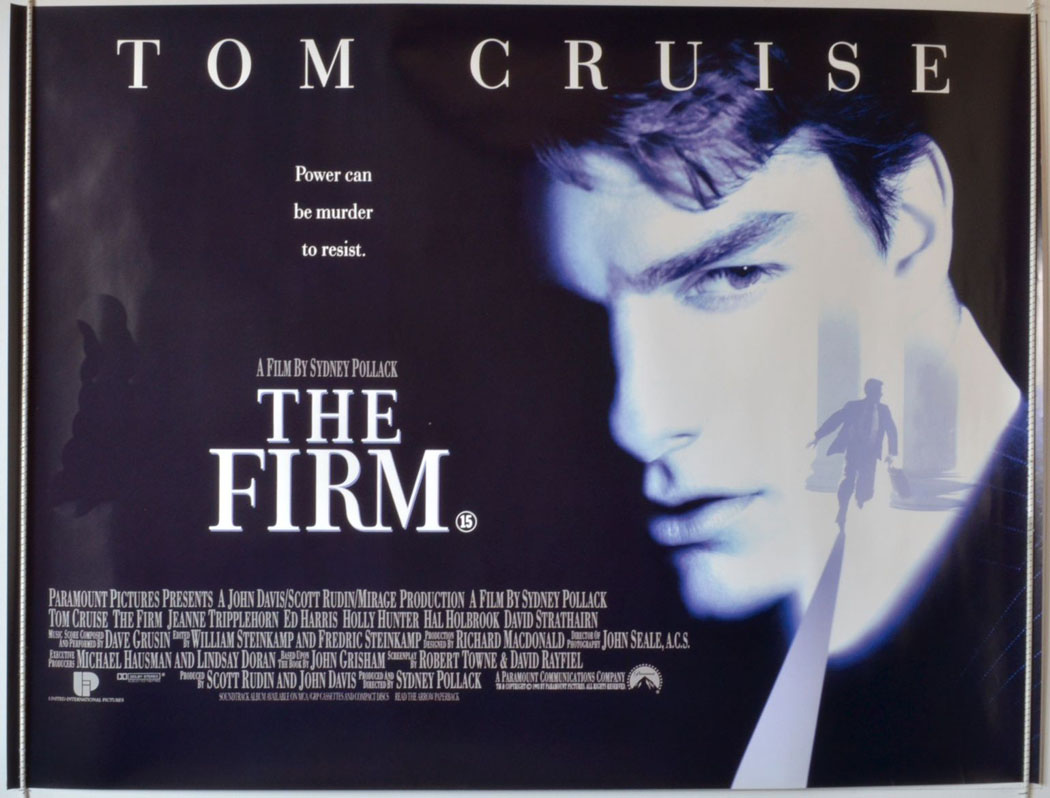 a movie analysis of sydney pollacks drama the firm