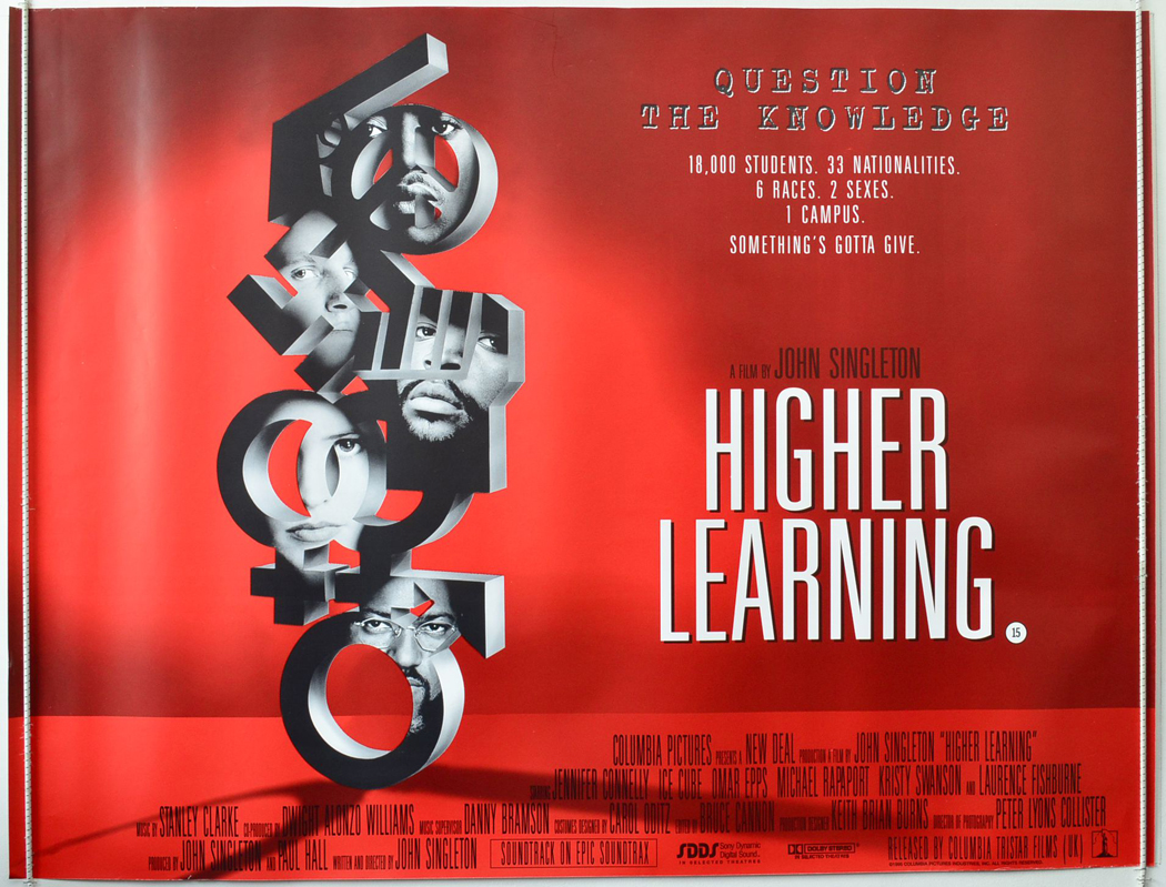 Higher Learning - Original Cinema Movie Poster From ...