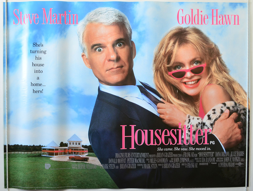 Housesitter (Desgin 2) - Original Cinema Movie Poster From ...