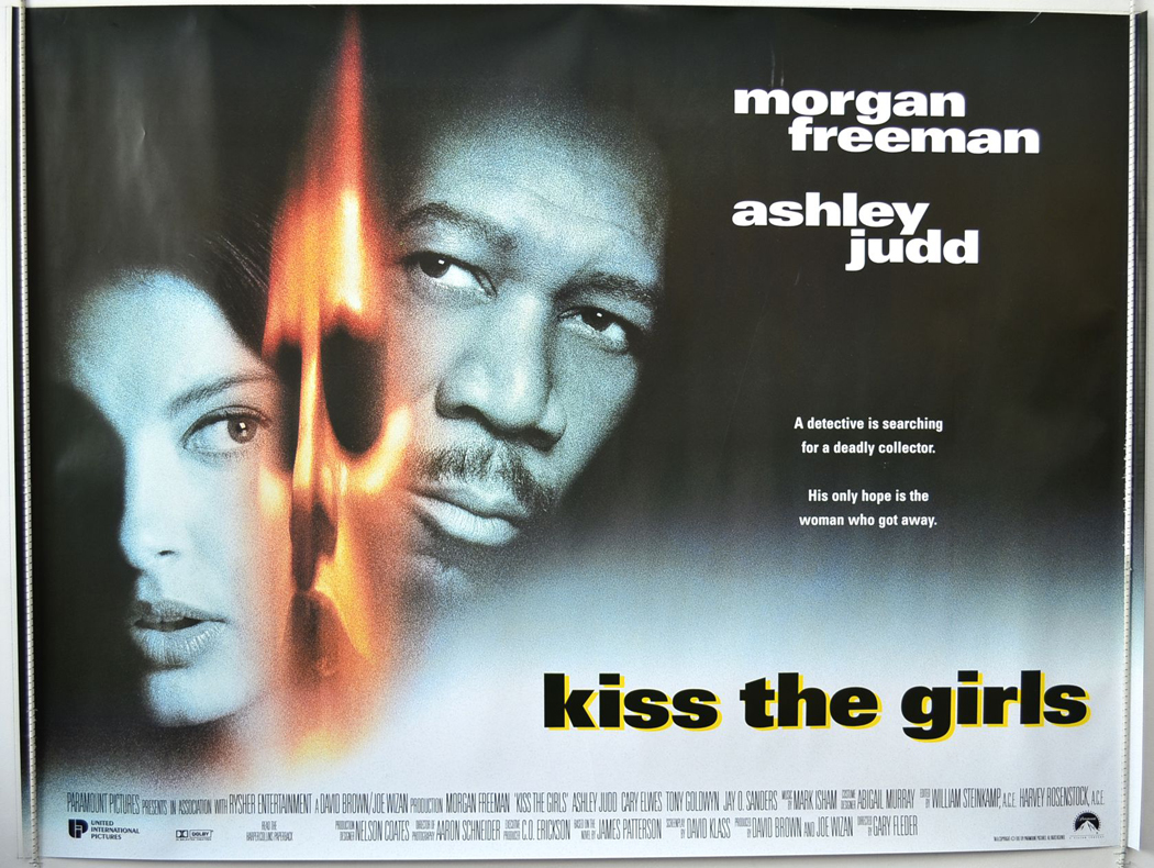 kiss the girls original cinema movie poster from