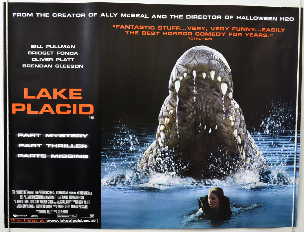 Image result for lake placid movie poster