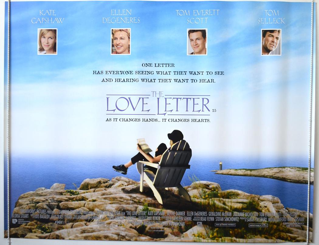 THE LOVE LETTER 1999 Original Quad Film Poster