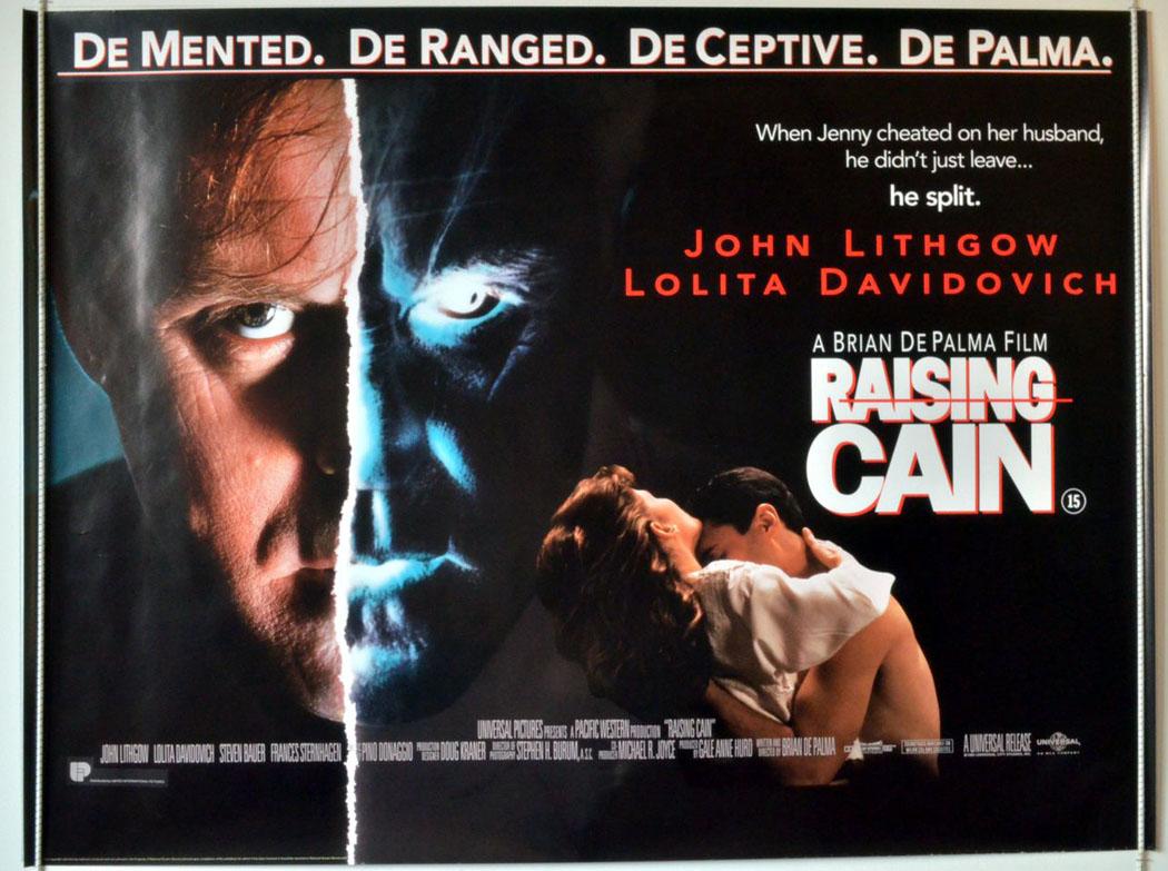 Raising Cain - Original Cinema Movie Poster From ... Raising Cain