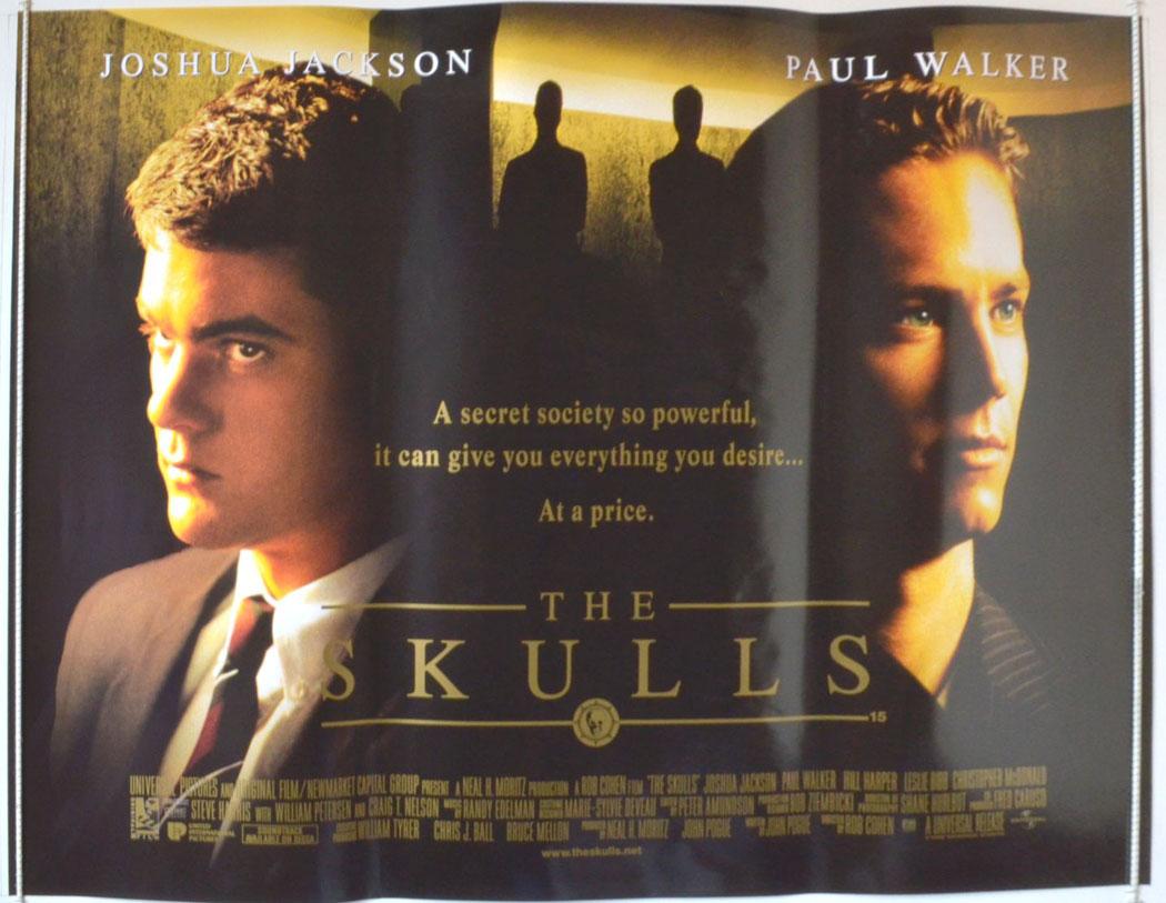 Movie Posters 2000: The Skulls (2000) Movie