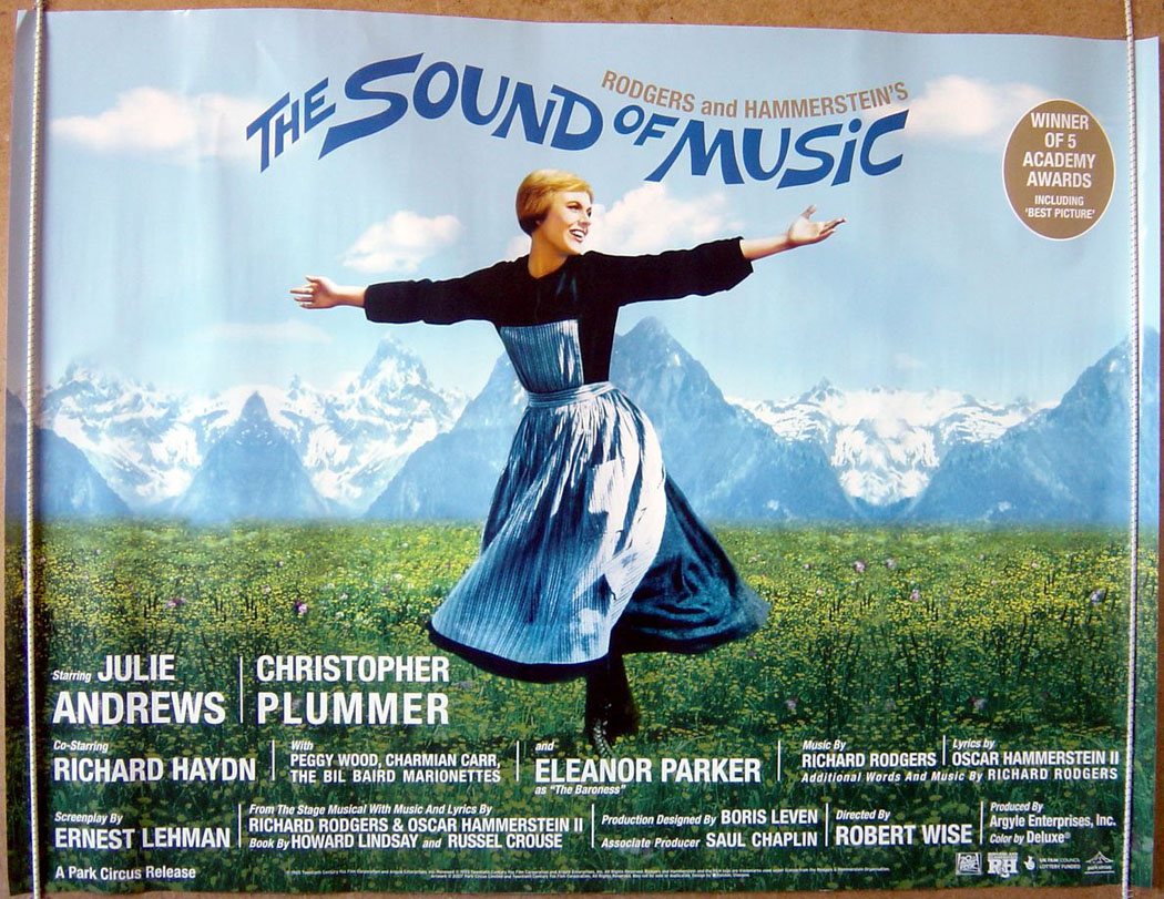 Sound Of Music (The) (2007 re-release) - Original Cinema ...