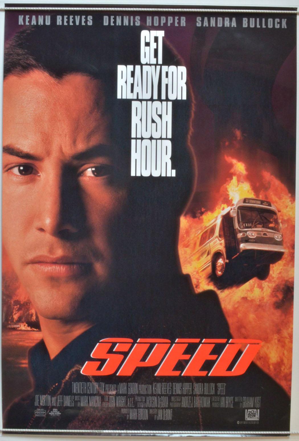 Speed - Original Cinema Movie Poster From pastposters.com ...