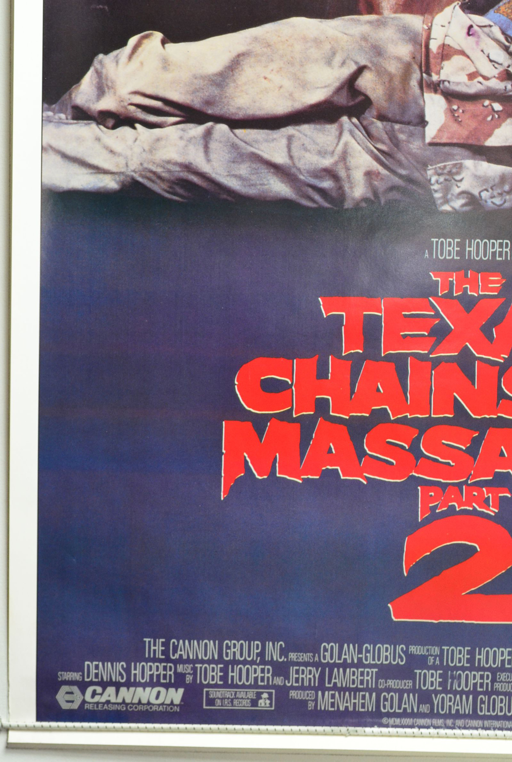 Texas Chainsaw Massacre Part 2 (The) - Original Cinema Movie Poster From pastposters.com British ...