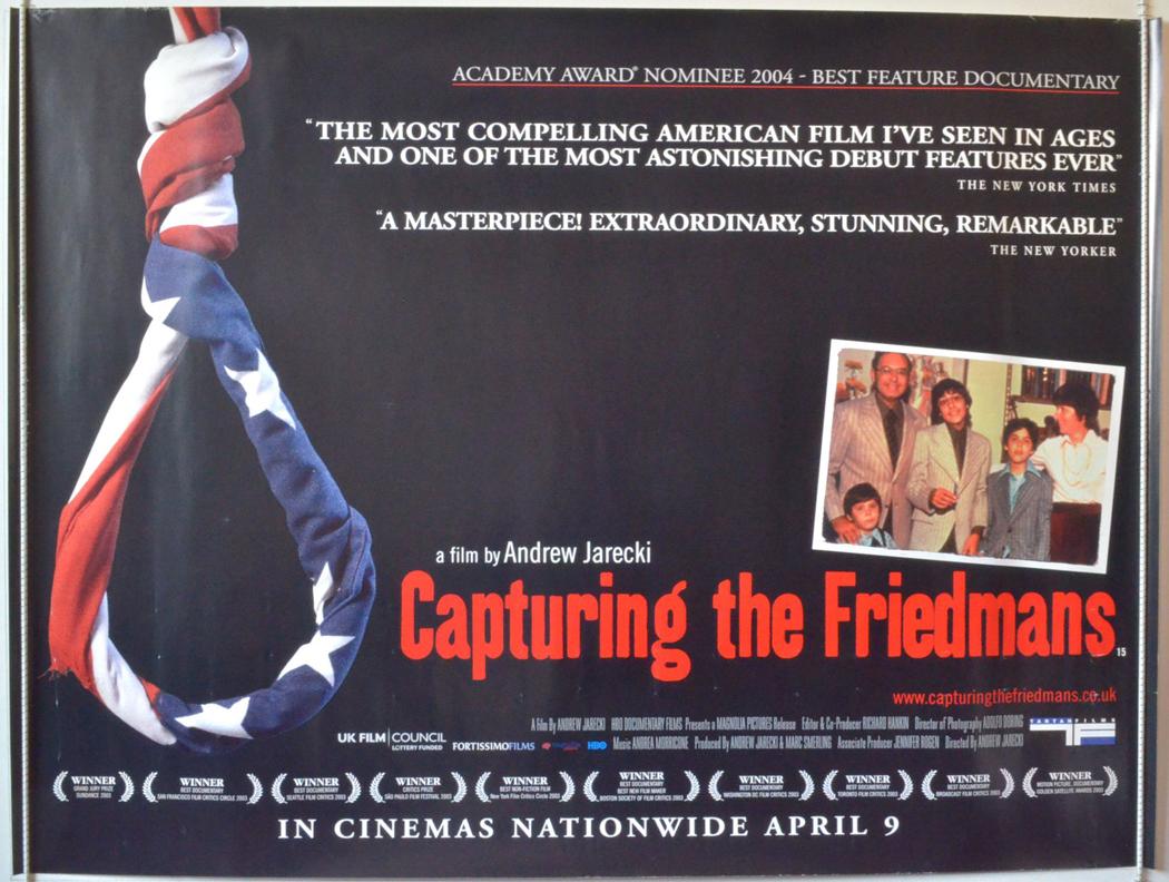 capturing the friedmans Capturing the friedmans andrew jarecki eeuu de américa, 2003 [color, 107 m] https //pics filmaffinity com/capturing_the_friedmans-766125906-large jpg wikipedia.