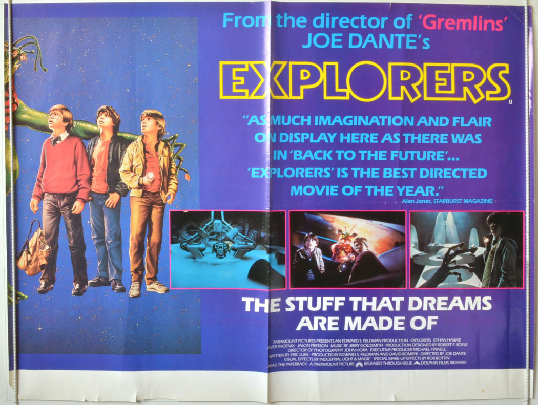 Explorers (The) - Original Cinema Movie Poster From pastposters ...
