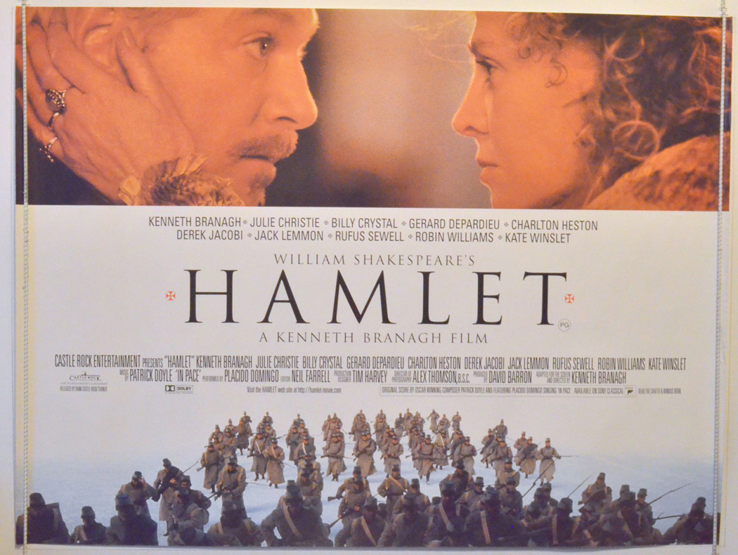 Hamlet - Original Cinema Movie Poster From pastposters.com ...