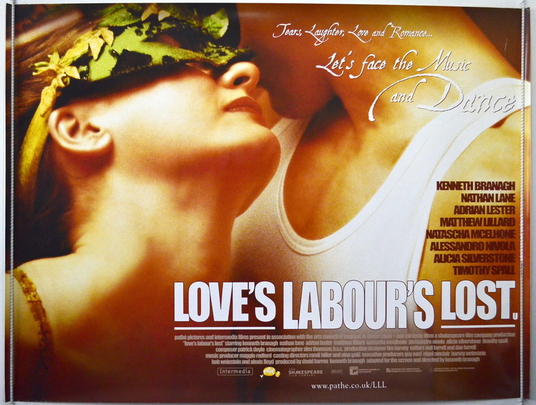 Movie Posters 2000: Love's Labour's Lost (2000) Movie