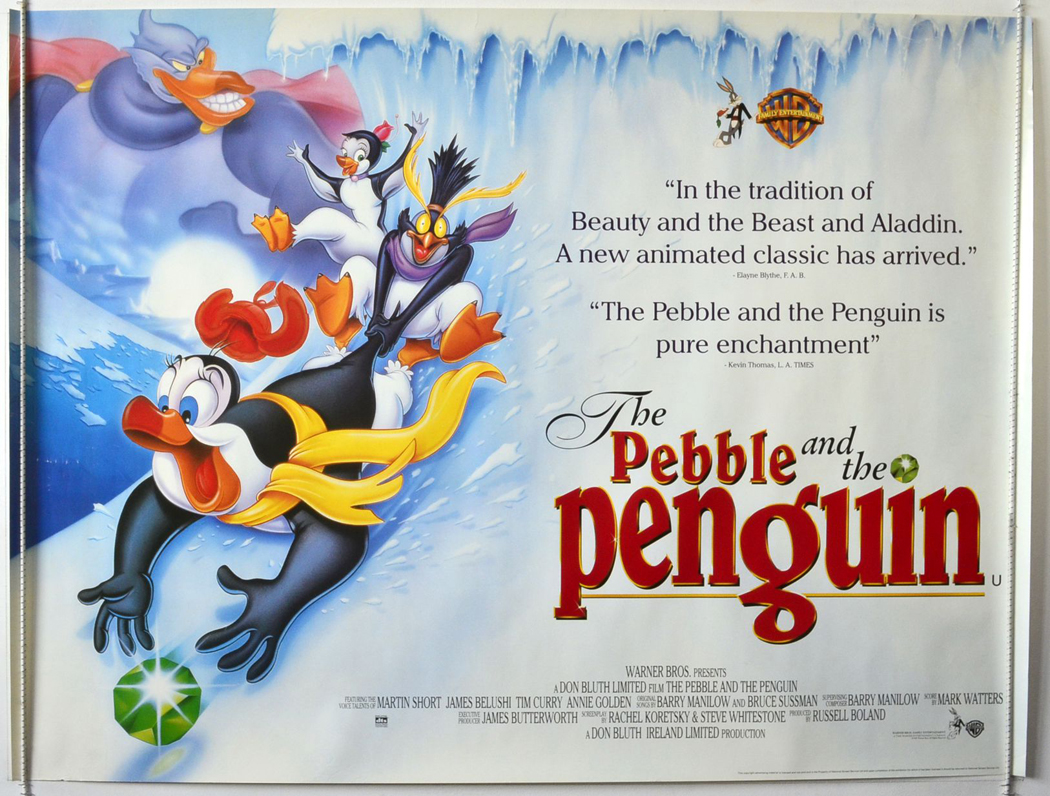 1995 Movie Posters: Pebble And The Penguin (The)