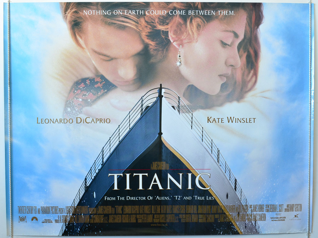 titanic original cinema movie poster from pastposters