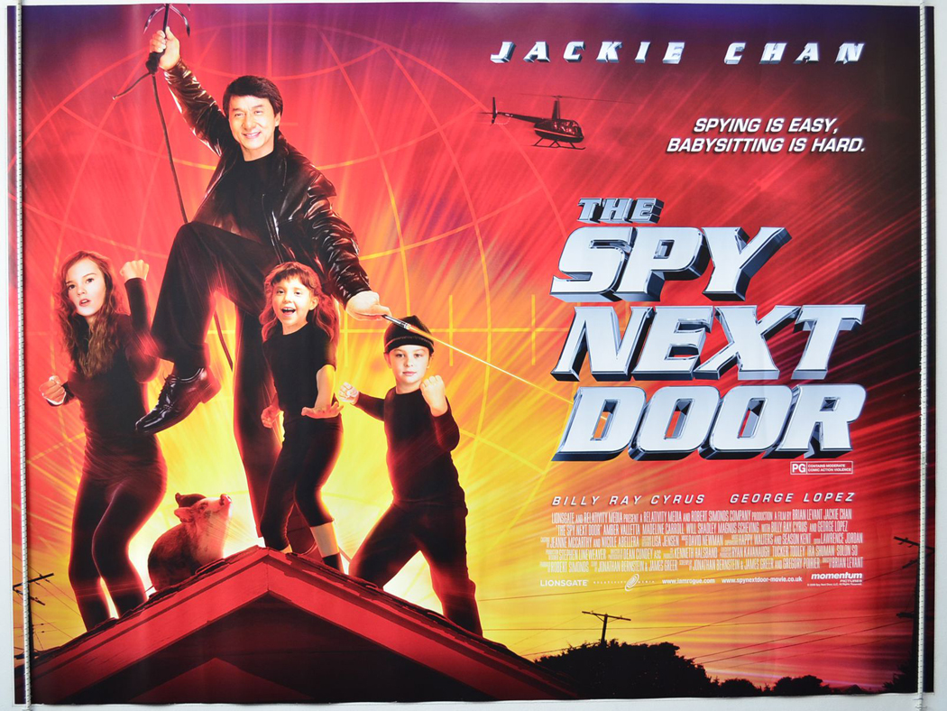 Spy next door the original cinema movie poster from pastposters