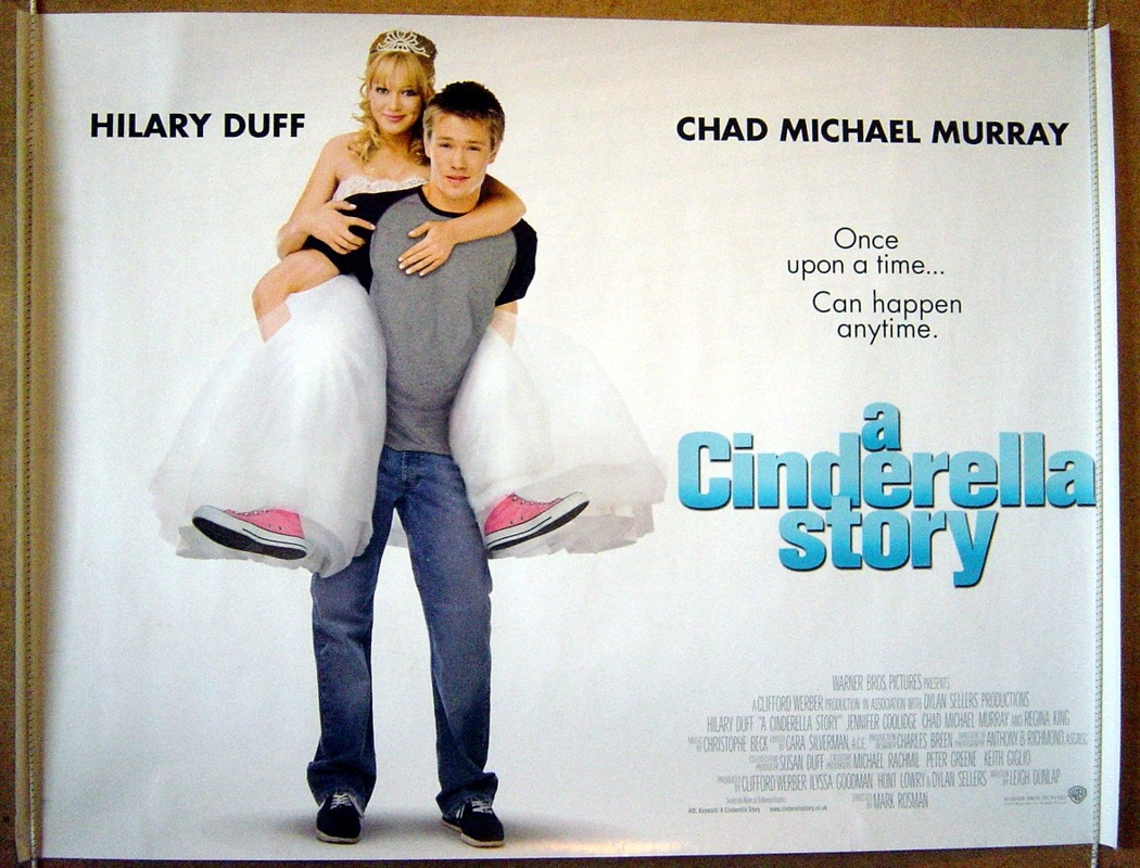 a cinderella story original cinema movie poster from