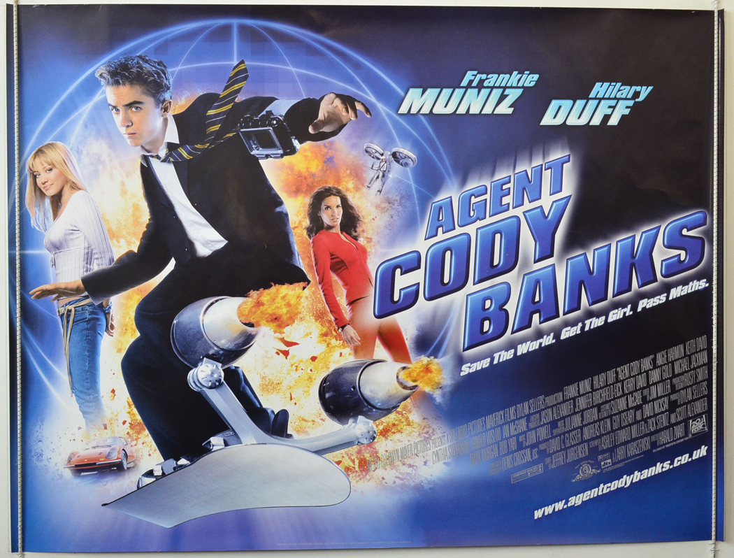 Agent Cody Banks - Original Cinema Movie Poster From