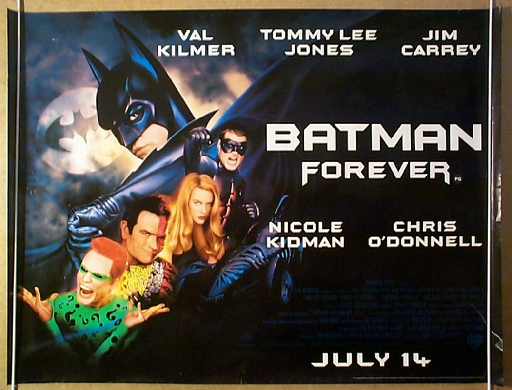 Batman Forever Poster | www.imgkid.com - The Image Kid Has It!