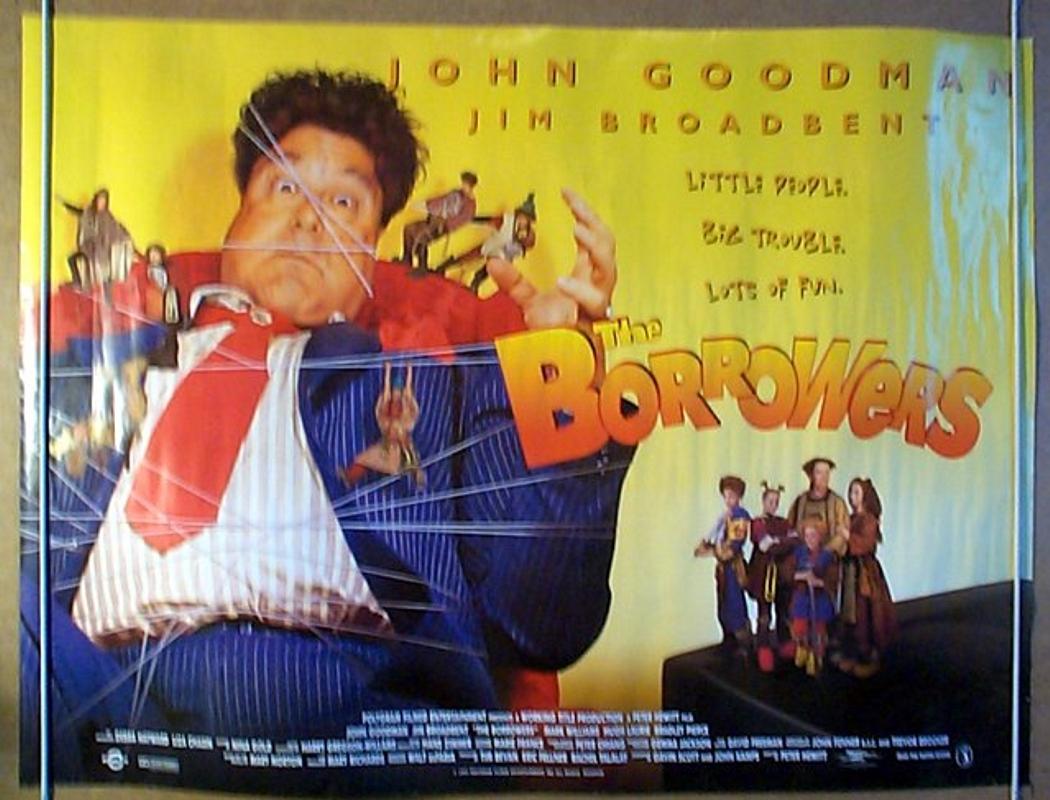 Movie Posters 1997: THE BORROWERS (1997) Cinema Quad Movie Poster