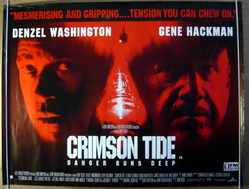 Crimson Tide Movie Wallpaper Crimson Tide Original Cinema