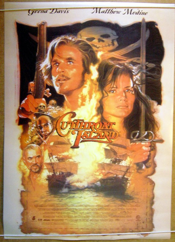 Cutthroat Island - Original Cinema Movie Poster From ...