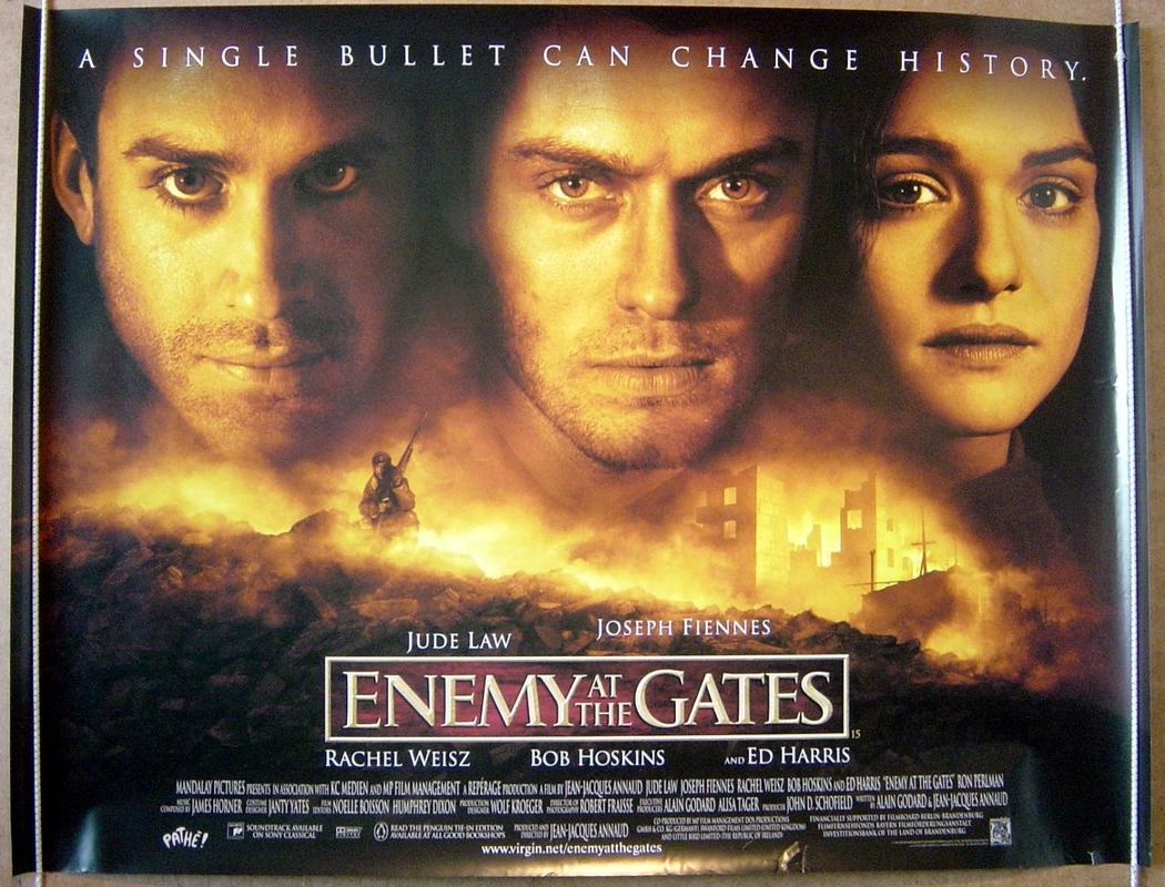 Enemy At The Gates - Original Cinema Movie Poster From ...