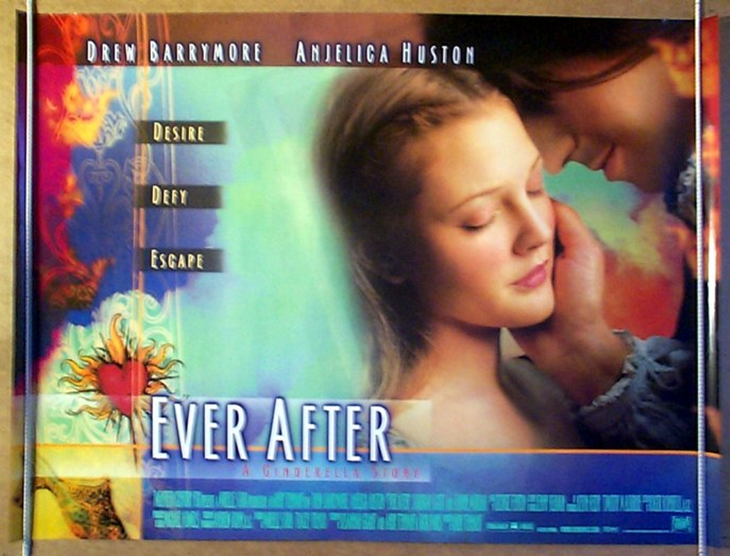 EVER AFTER : A CINDERELLA STORY (1998) Cinema Quad Poster ...