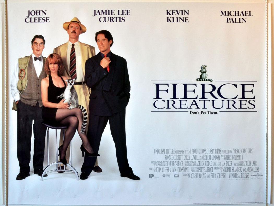 Fierce Creatures Fierce Creatures Original Cinema Movie Poster From pastposterscom