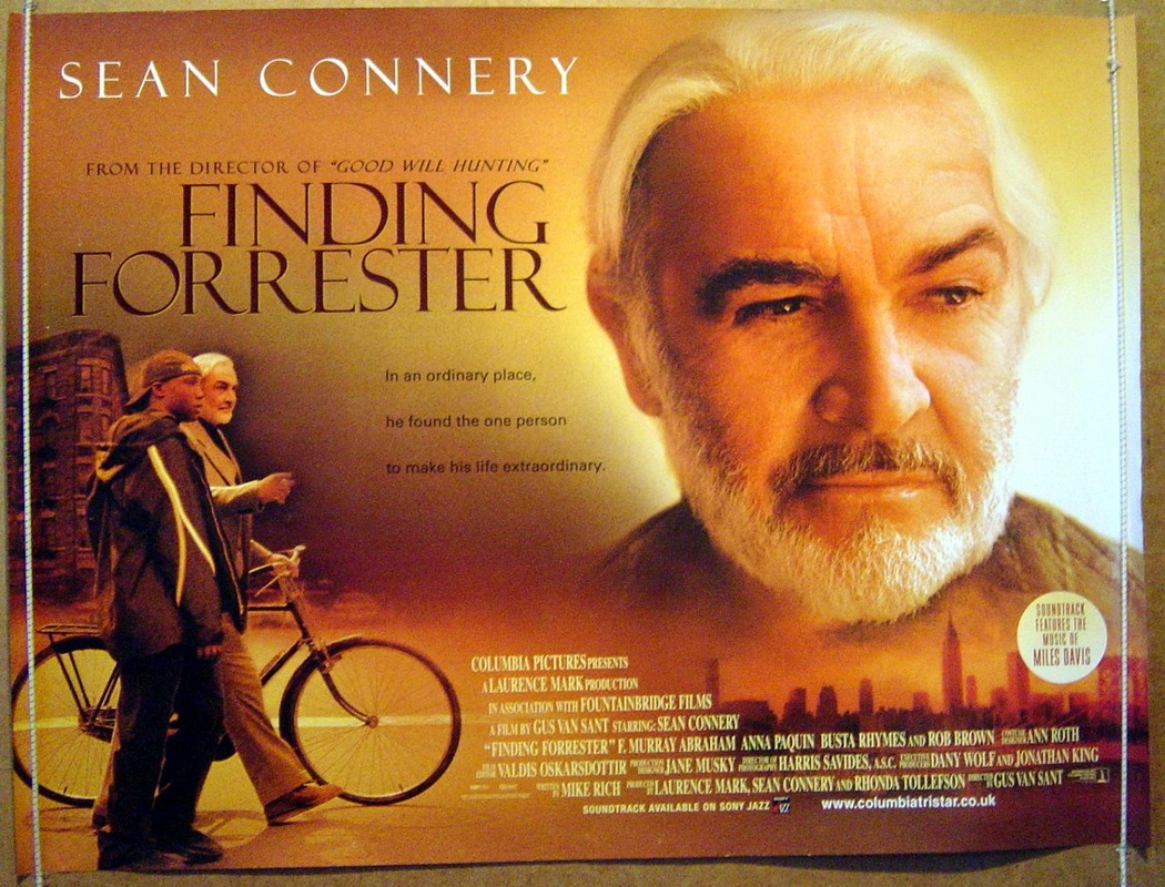 Finding forrester original cinema movie poster from pastposters com