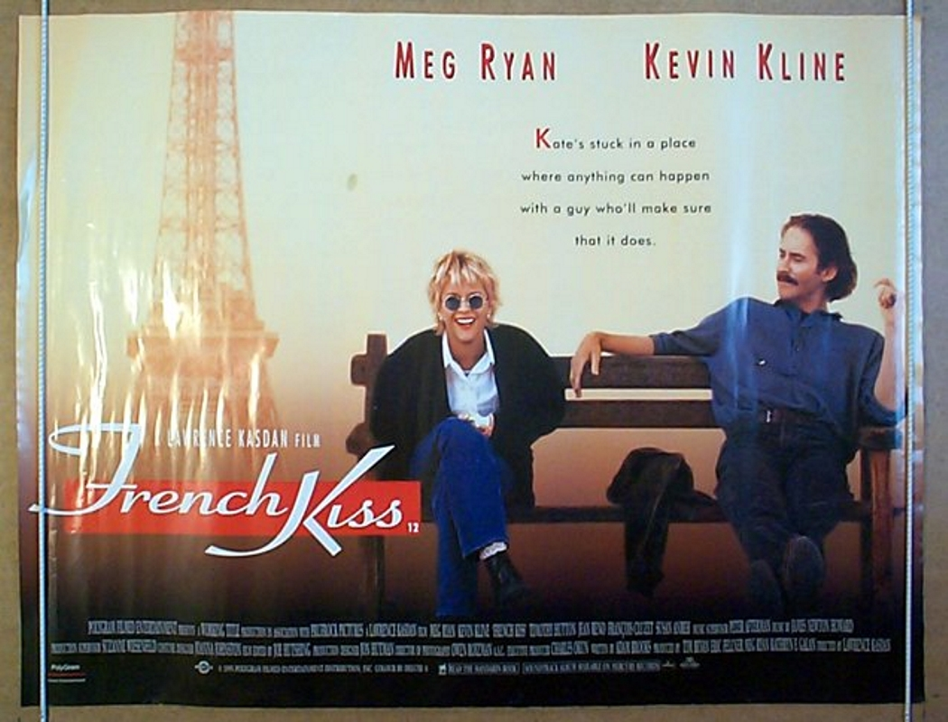 french kiss original cinema movie poster from